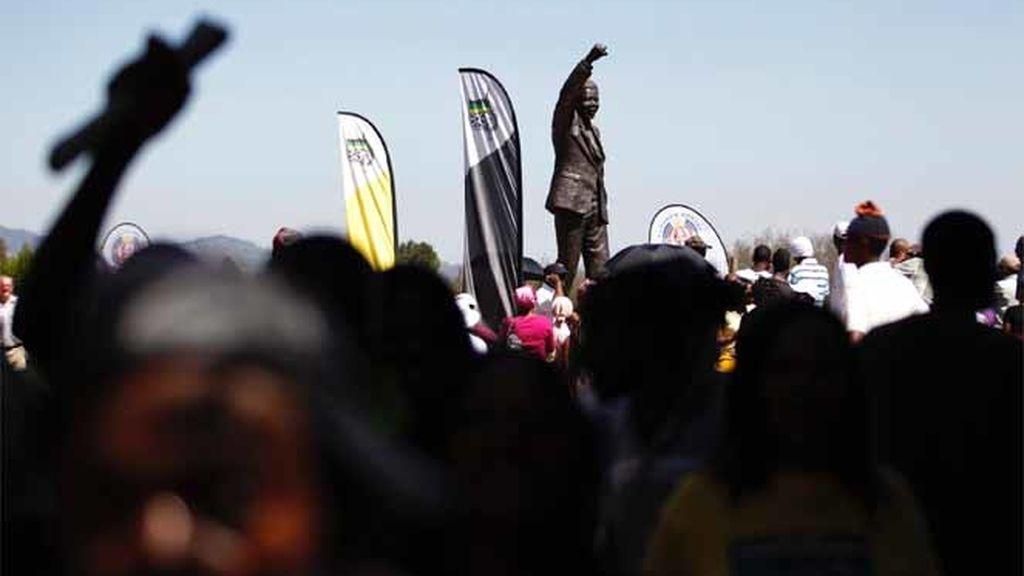 20º aniversario de la excarcelación de Mandela