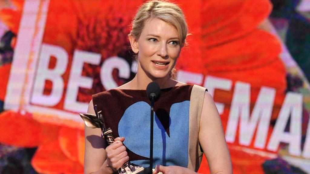 Cate Blanchett, premiada y favorita al Oscar a Mejor Actriz