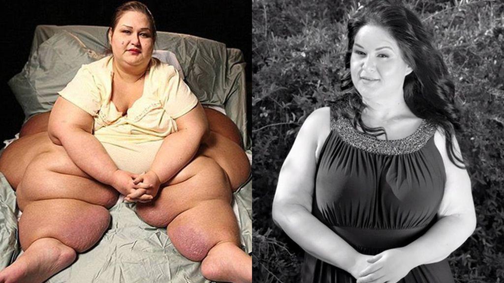El cambio radical de 'la mujer de media tonelada'