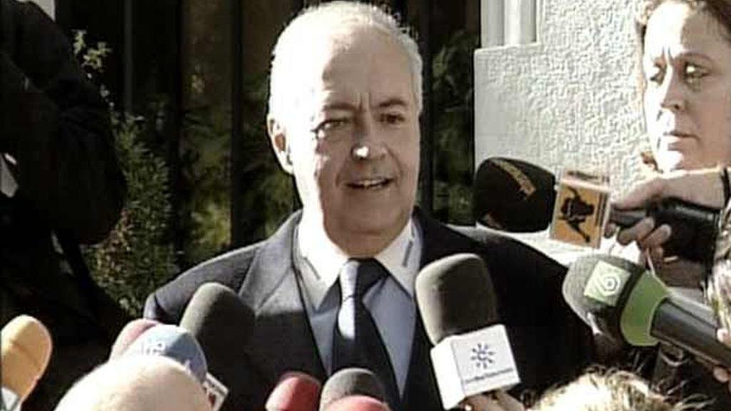 José Luis Moreno satisfecho con la detención