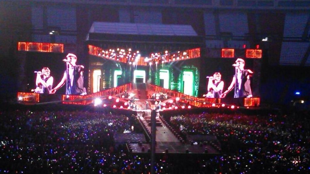 One Direction en Madrid