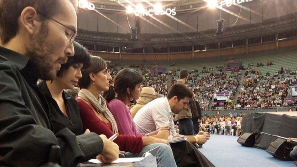 El equipo de 'Sumando Podemos'