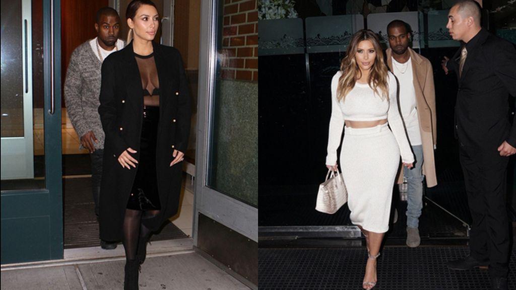 Los estilismos 'after baby' de Kim Kardashian no dejan a nadie indiferente