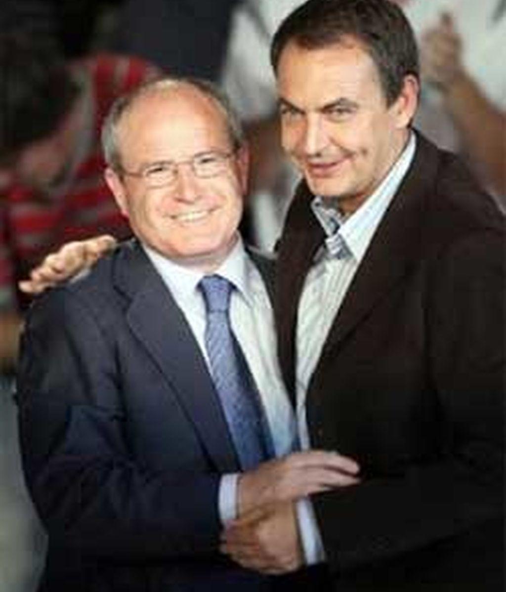 Zapatero y Montilla, en una imagen de archivo.