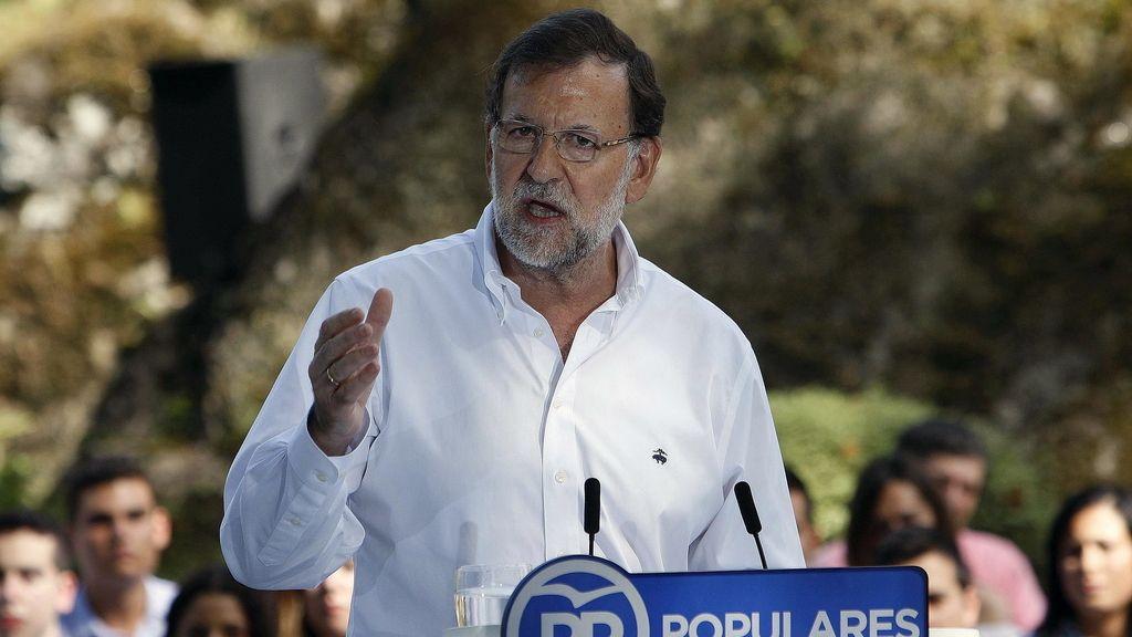 """Rajoy alerta contra el """"virus de la desunión"""" y quien """"engaña"""" a los catalanes para """"enfrentarlos"""""""