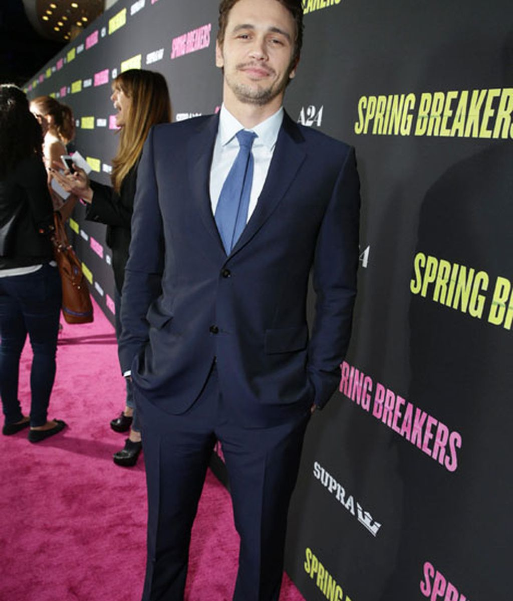 James Franco, traficante de drogas en 'Spring Breakers'