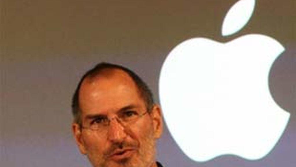 Imagen de archivo del presidente de Apple, Steve Jobs. Foto: EFE.