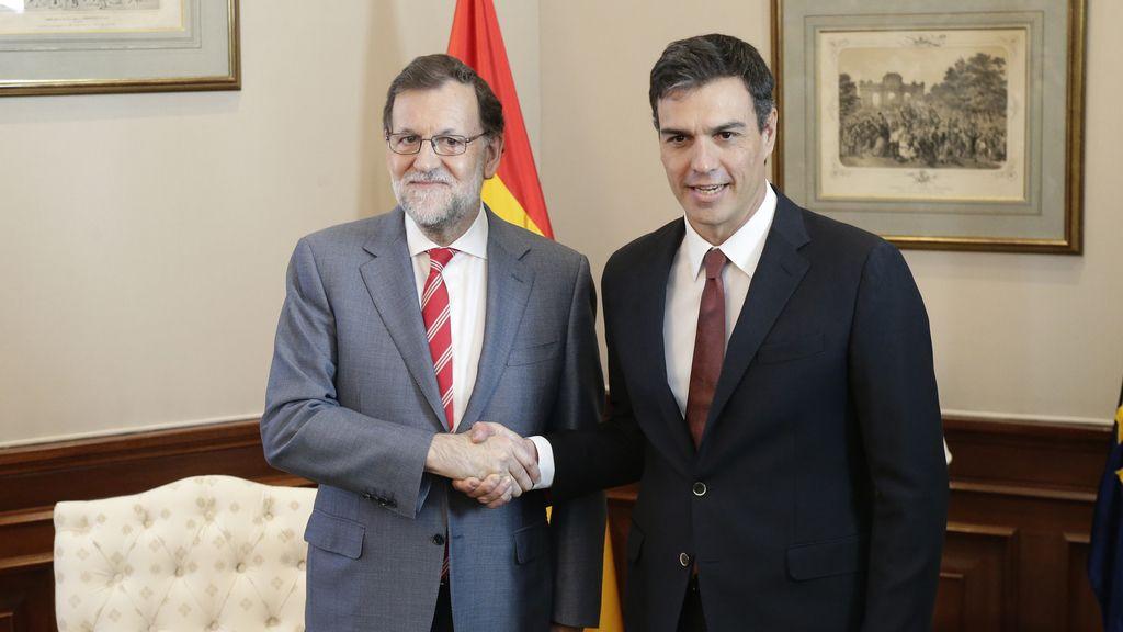 Mariano Rajoy y Pedro Sánchez (grande)