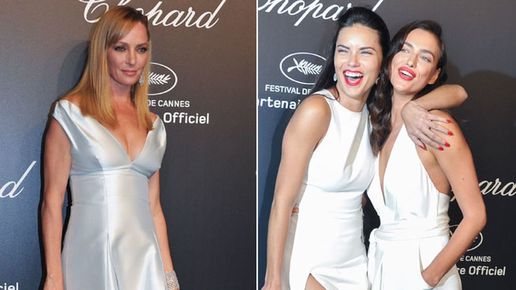 Glamour en la Chopard Party en Cannes