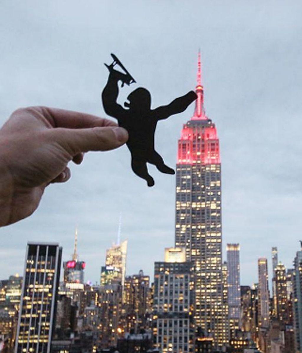 King Kong de vuelta a Manhattan