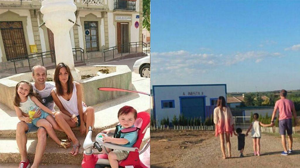 Iniesta vuelve a sus raíces: vacaciones en Fuentealbilla, el pueblo universal