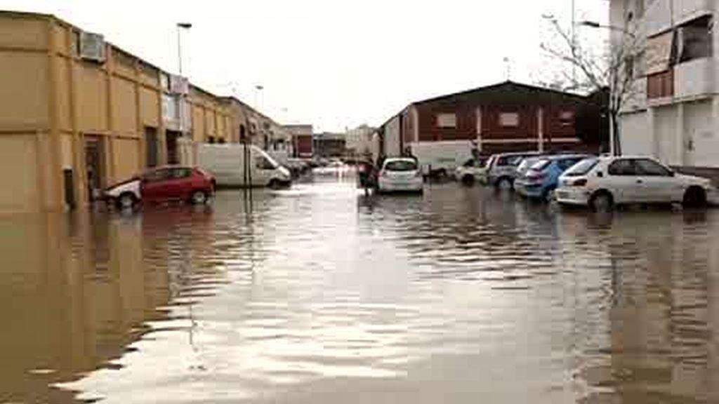 Andalucía, muy afectada por las lluvias