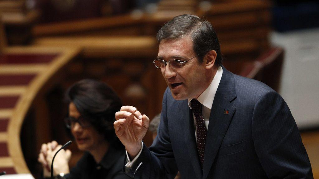 Primer ministro de Portugal, Passos Coelho. Foto: Reuters