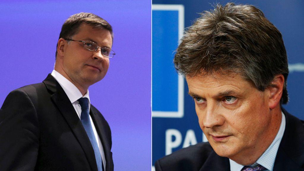 Dombrovskis sustituye a Jonathan Hill  nuevo comisario europeo de Estabilidad Financiera