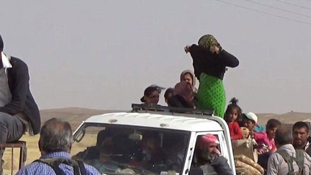 Así expresan la libertad las mujeres que huyen del ISIS