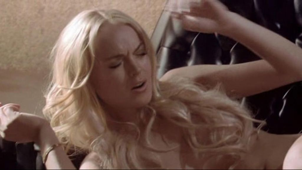 Lindsay Lohan se desnuda para 'Machete'
