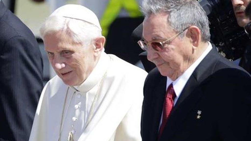 Raúl Castro, Papa Benedicto XVI