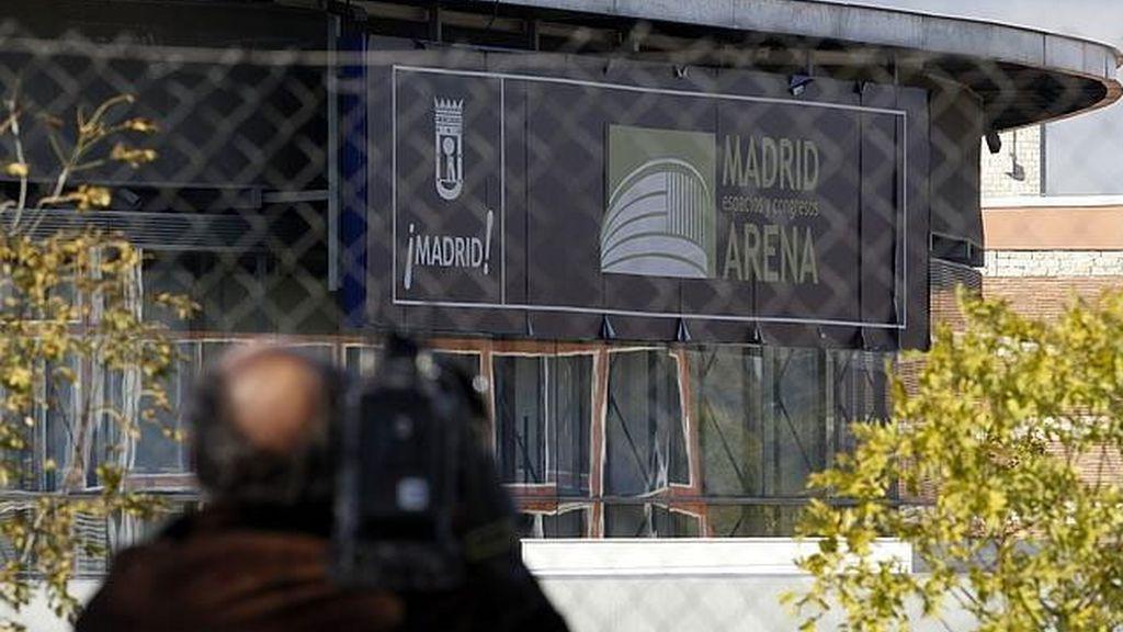 El Madrid Arena retoma su actividad casi seis meses después de la tragedia
