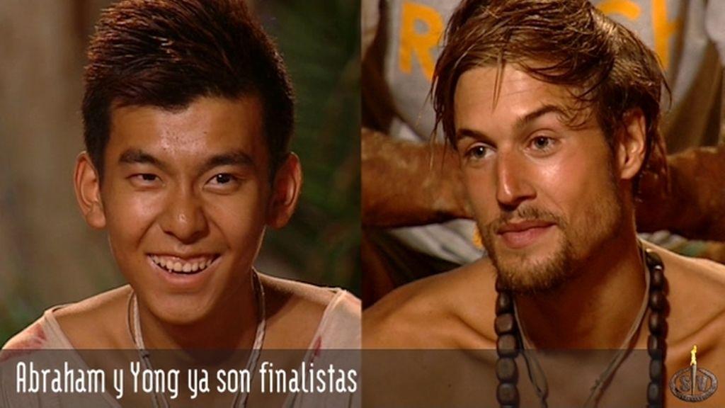 Abraham y Yong ya son finalistas