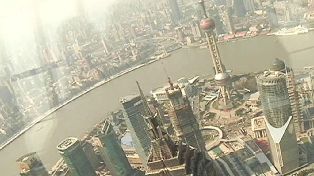 Vista aérea Pudong