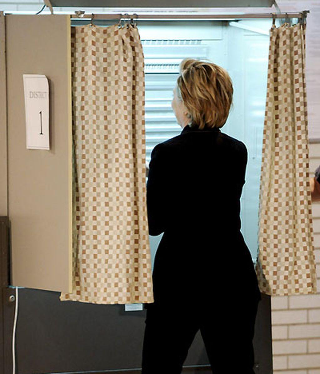 Los Clinton también han votado