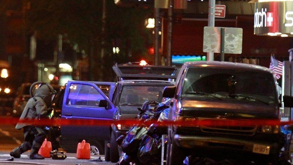 El coche-bomba que ha desatado el pánico en el corazón de Nueva York