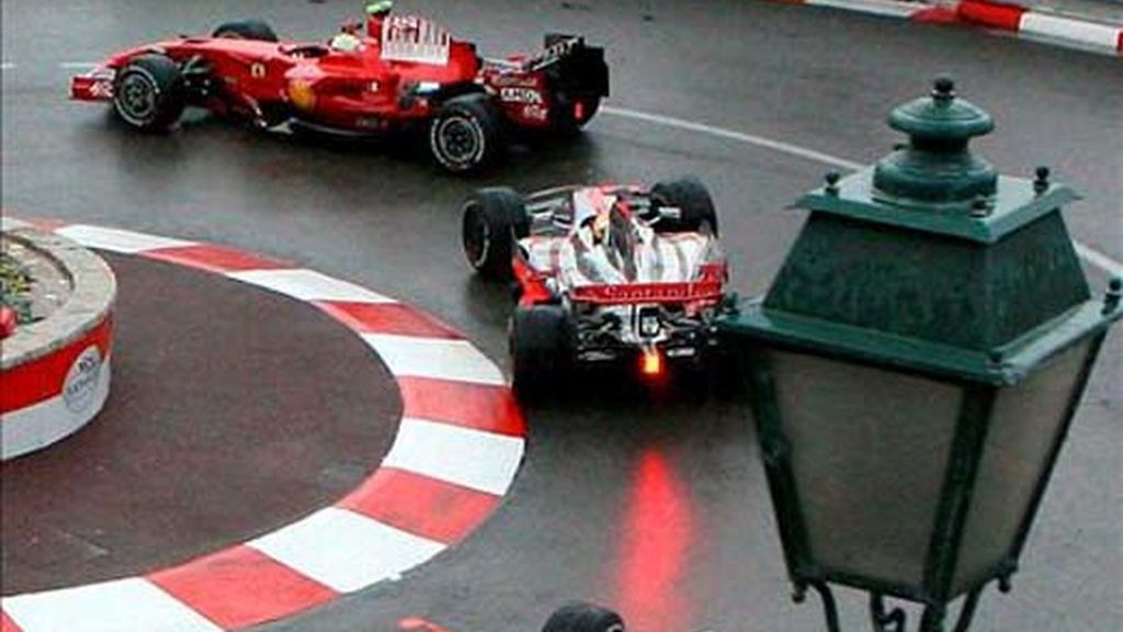 Massa ha salido desde la 'pole'