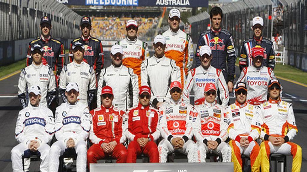 Foto Oficial F1: comienza la temporada en Australlia