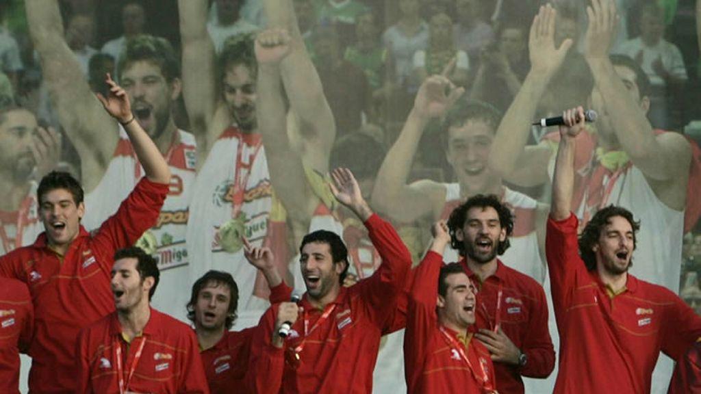 Los campeones del mundo