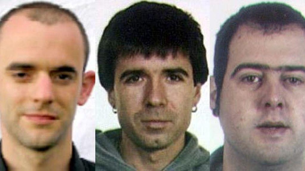 Alberto Machain Beraza, Aitzol Etxaburu y Andoni Sarasola