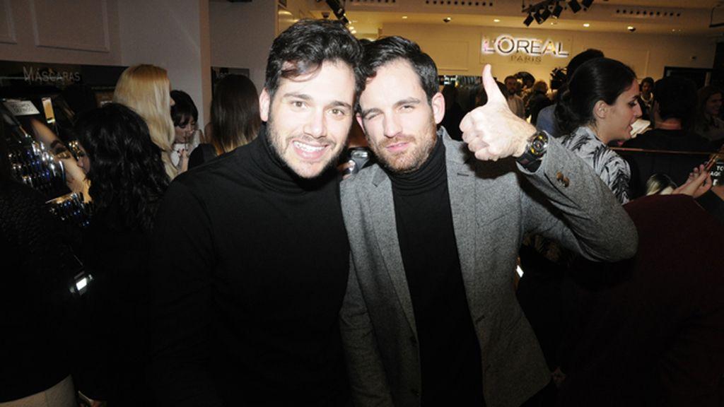 Federico Rodríguez y Alberto Ortiz Rey