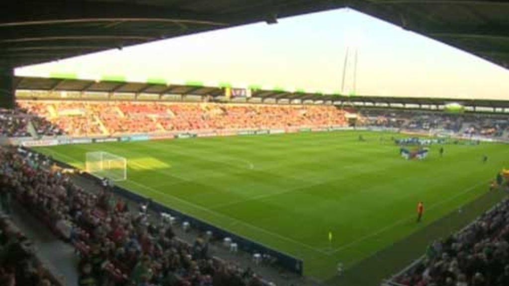 El estadio del debut de España