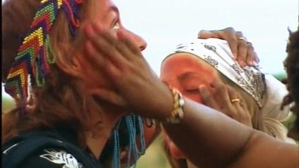 Los bushman se visten con sus mejores galas