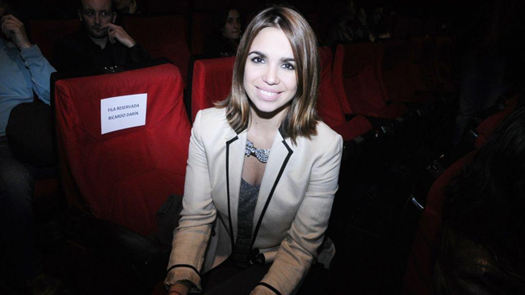 """Elena Furiase a su llegada al estreno de """"Séptimo"""""""