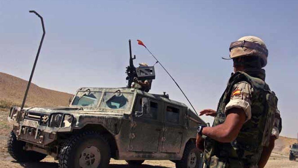 Un convoy español en Herat, Afganistán