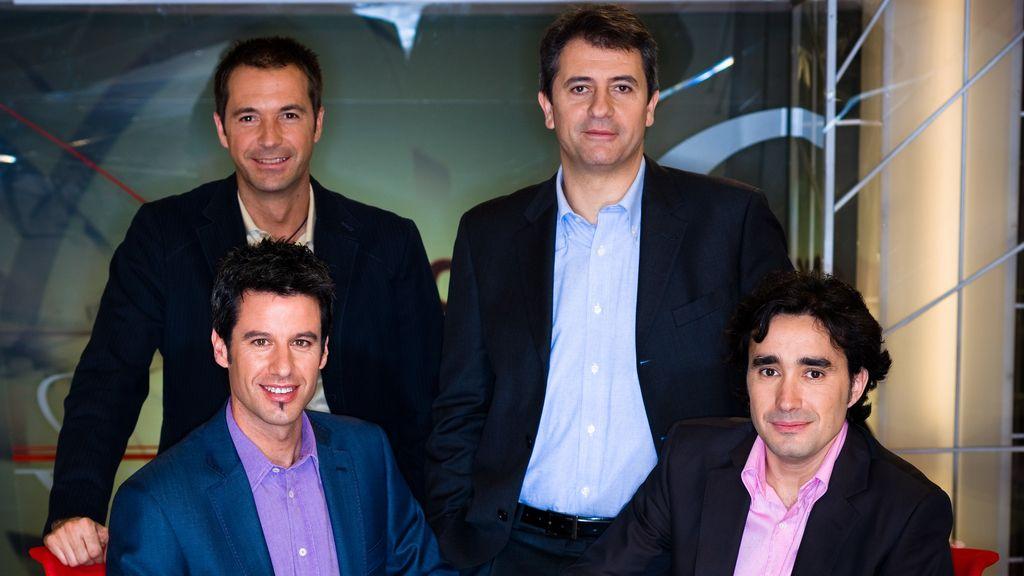 'Los Manolos' celebran el décimo aniversario de su programa