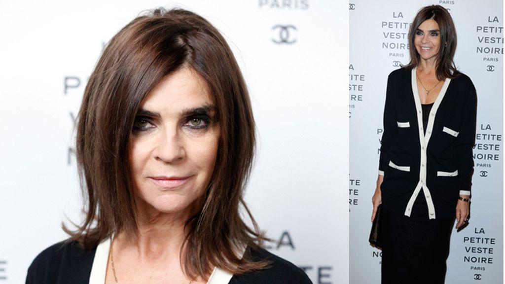 Carine Roitfeld, co-autora del libro y la exposición 'The little black jacket'