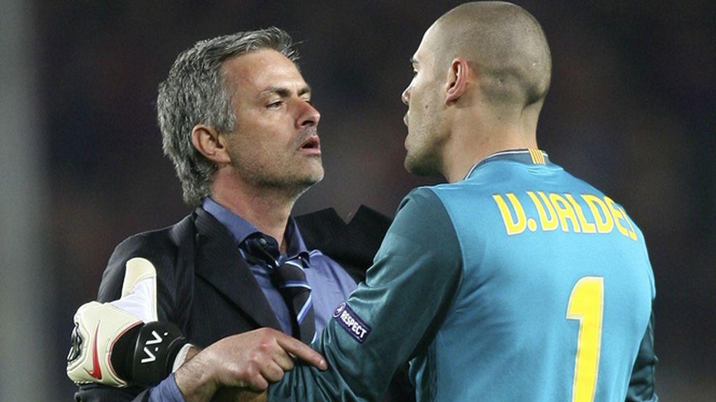 La celebración de Mourinho fue recriminada por Valdés