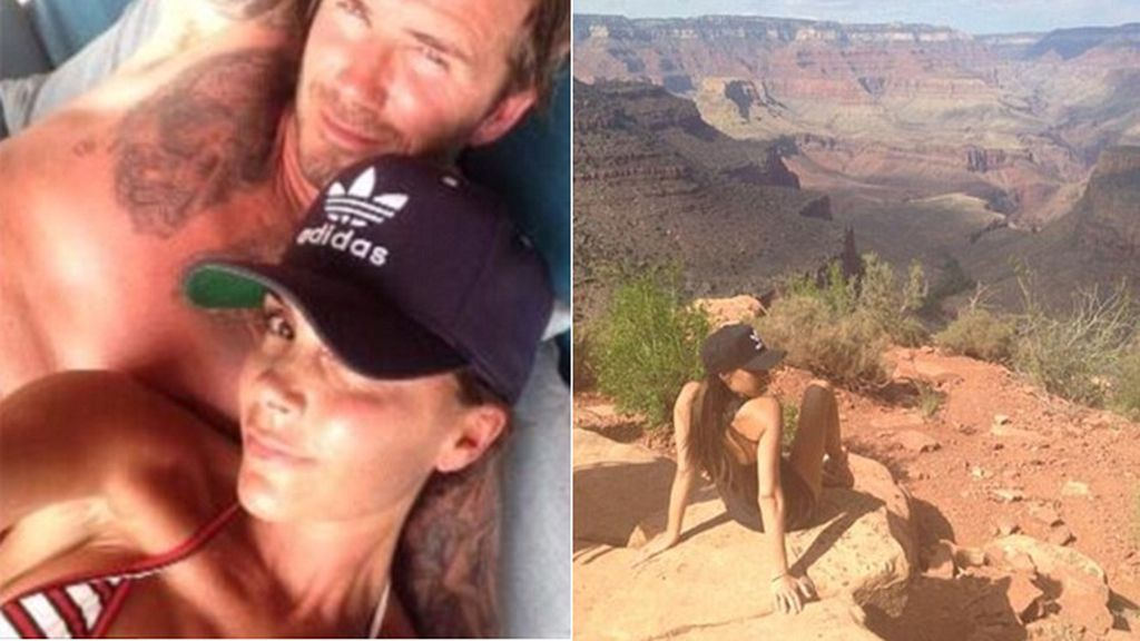 Victoria Beckham publica un 'selfie' con David del día de su cumpleaños