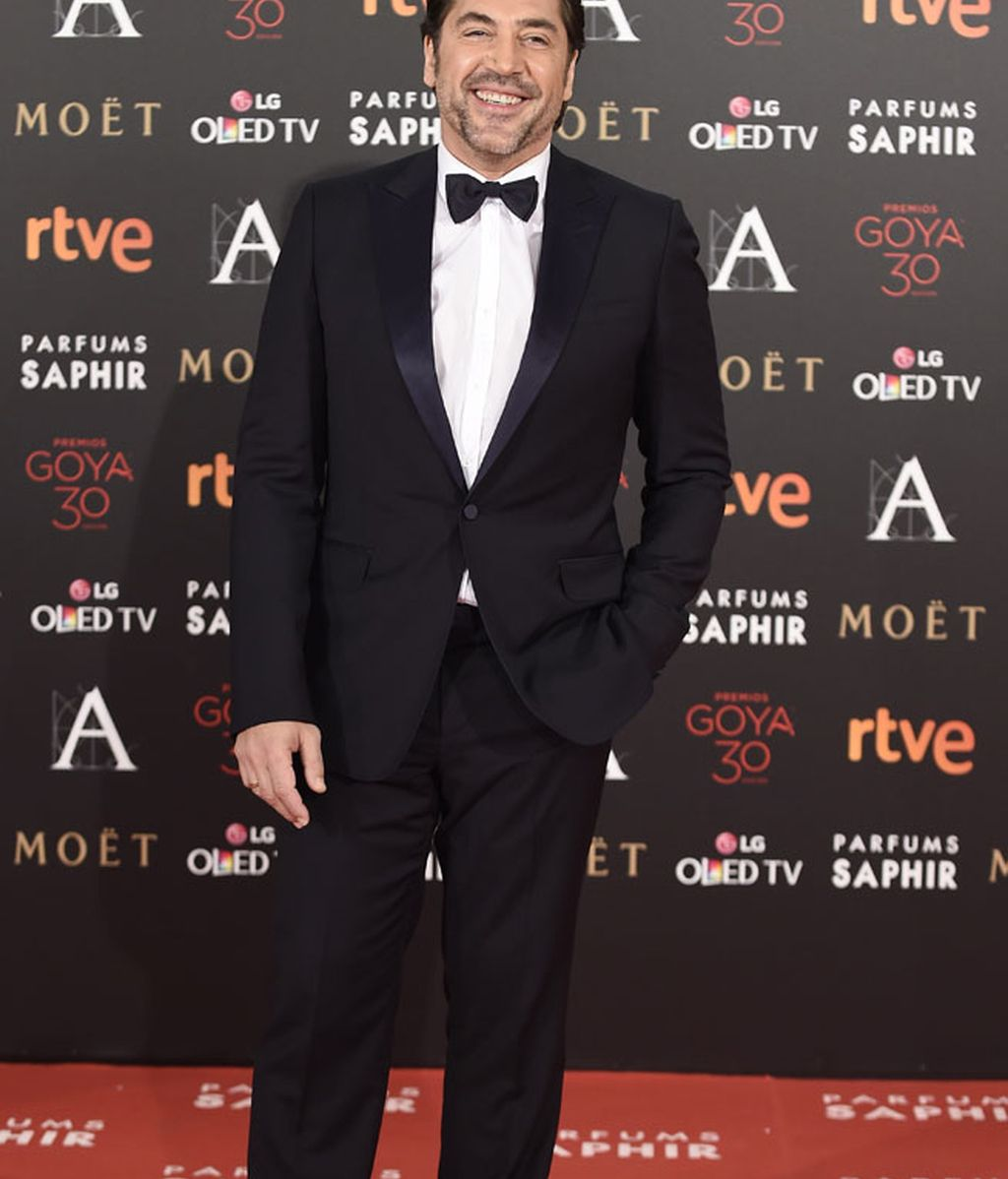 Javier Bardem, impecable