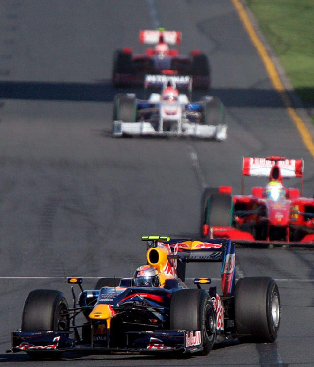 Sebastian Vettel en segunda posición