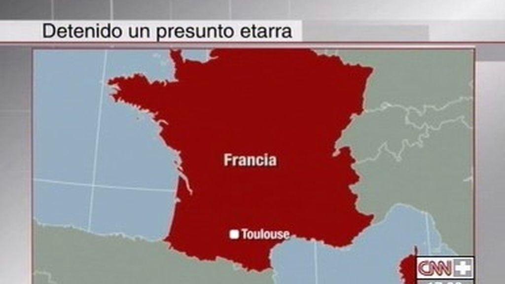 Presunto etarra detenido en Francia