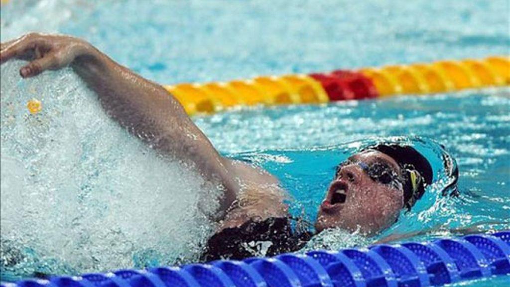 Wildeboer, a la final de 100 espalda con récord de España