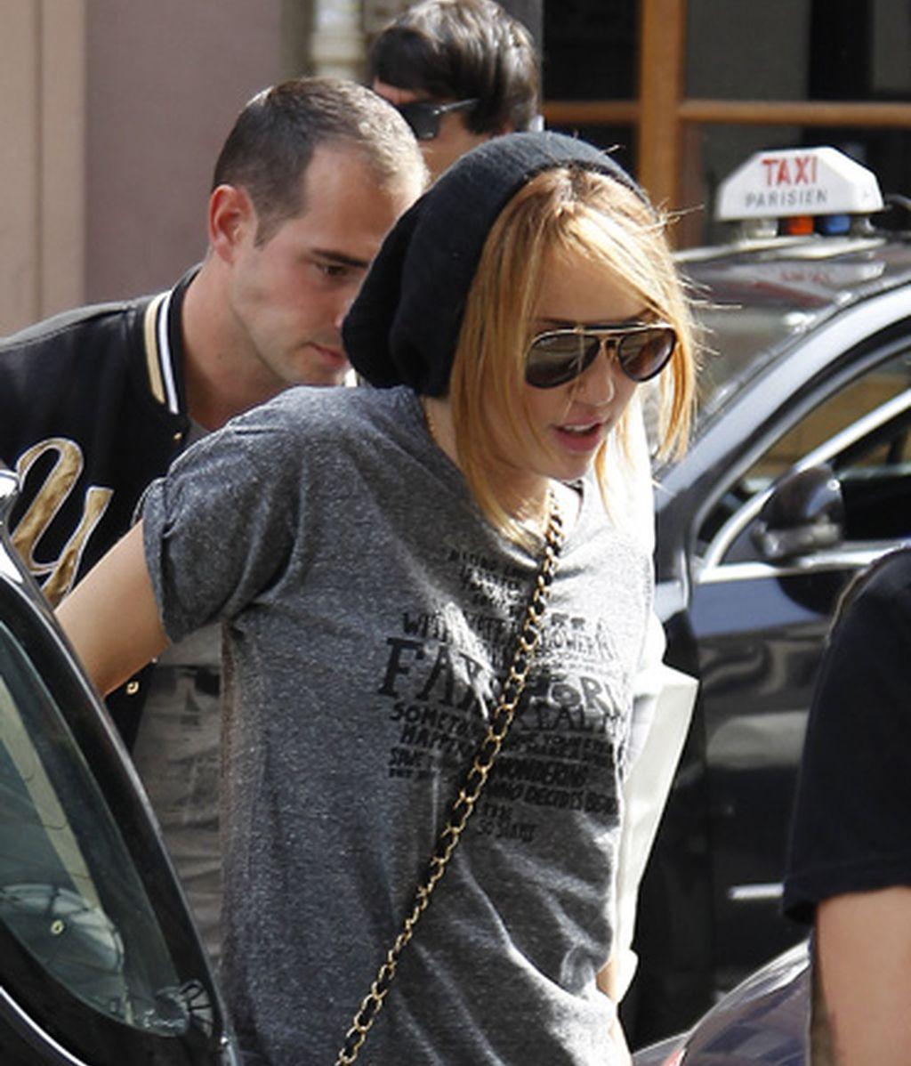 Miley Cyrus, una americana en París