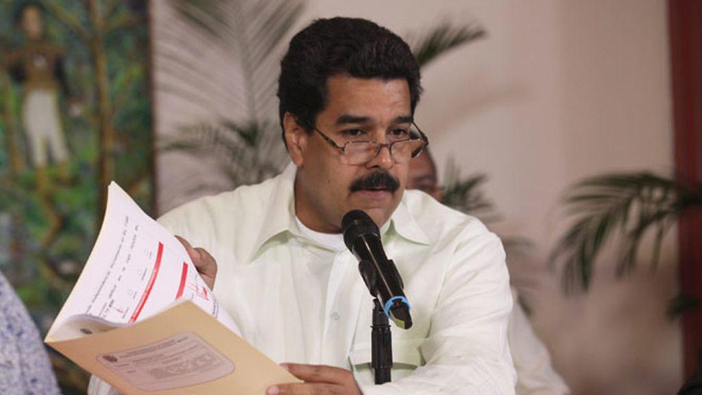 Vice Presidente de Venezuela Nicolas Maduro