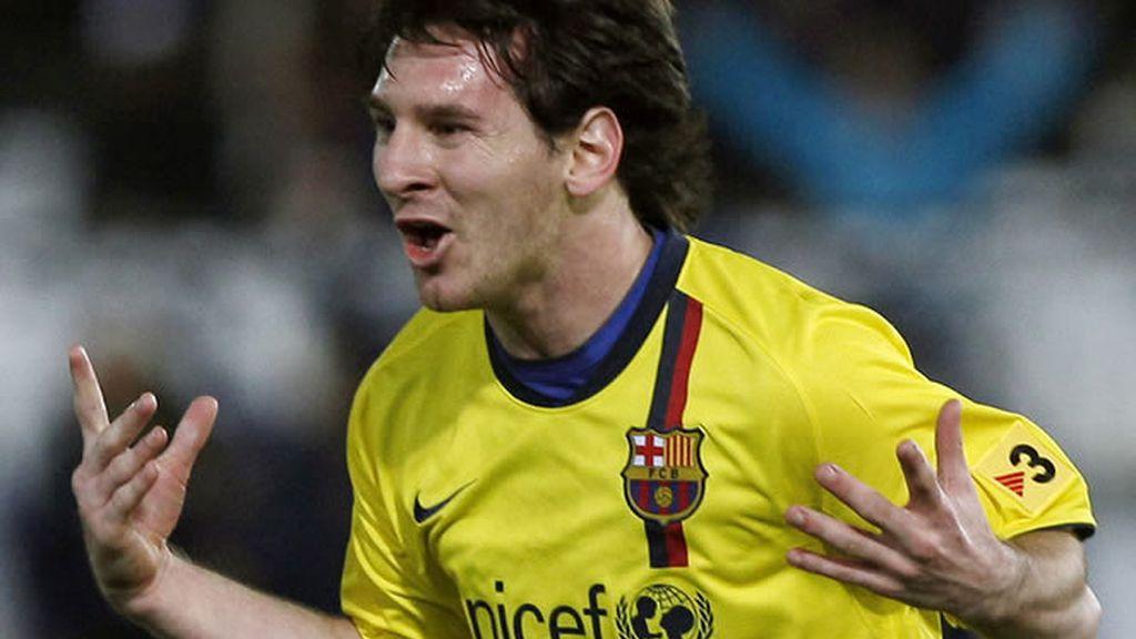 Leo Messi marcó dos golazos