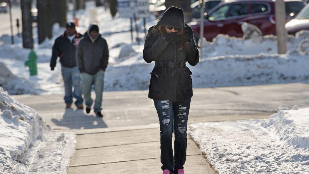 EEUU registra tempraturas de 53 grados bajo cero
