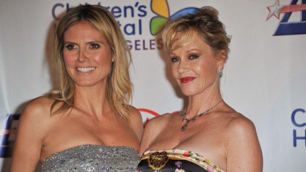 Heidi Klum y Melanie Griffith, tan amigas