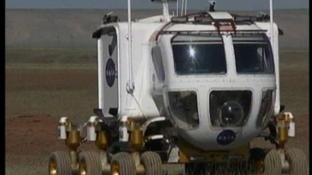 Vehículos lunares en Arizona