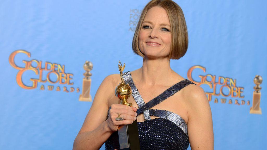 Jodie Foster 'sale del armario' en los Globos de Oro
